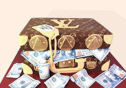 Designer Suitcase Cake