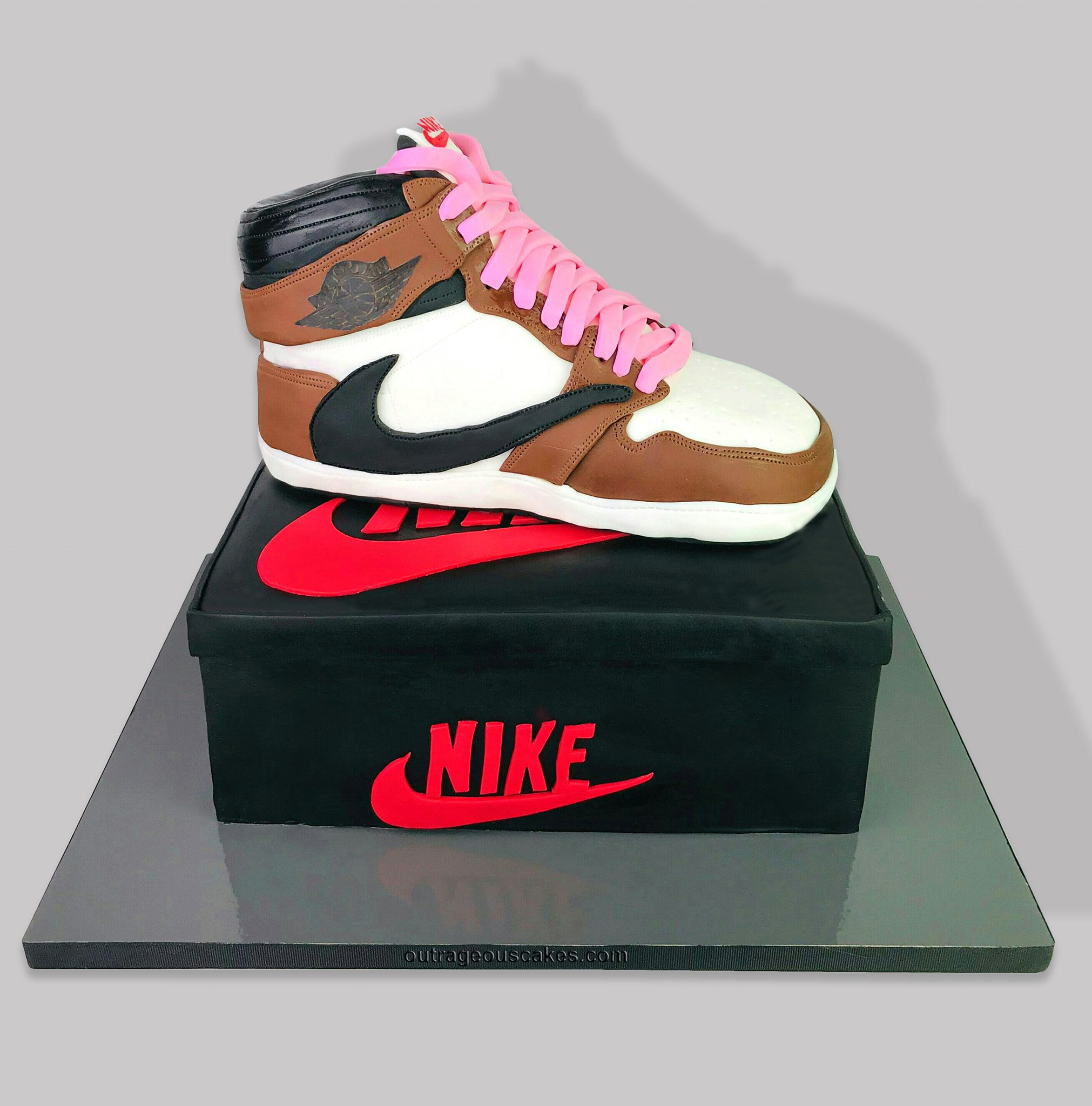 Travis Scott Nike Shoe Cake