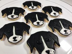 Dog Head Cookies