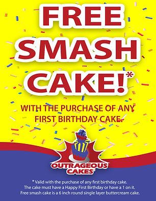 Smash cake Ad