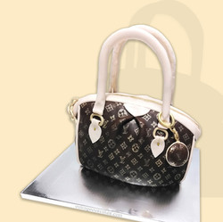 Designer Purse Cake