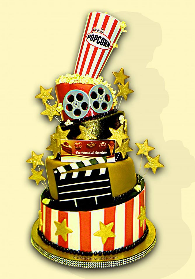 Movie Theater Cake