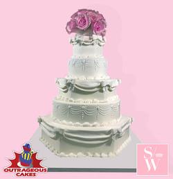 Strictly Weddings Cake