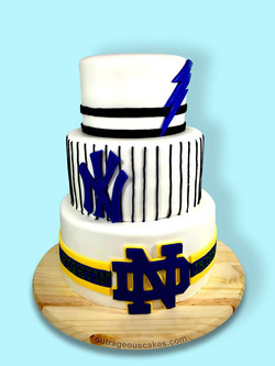 Sports Team Cake