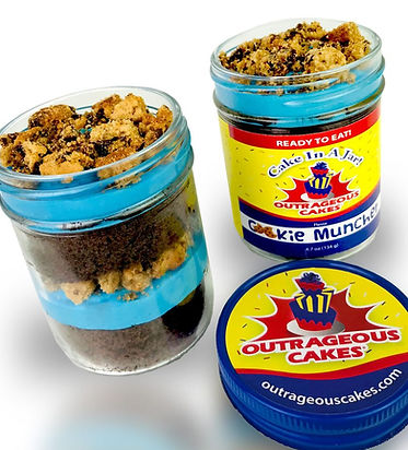 Cake In A Jar - Cookie Muncher