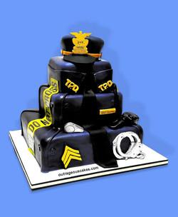 Tampa Police Cake