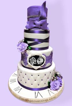 Twenties Themed Cake
