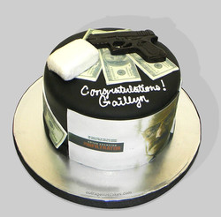 Infiltrator Movie Themed Cake