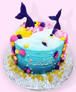 Mermaid Cake pic #2