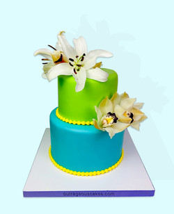 Two Tiered Cake #412