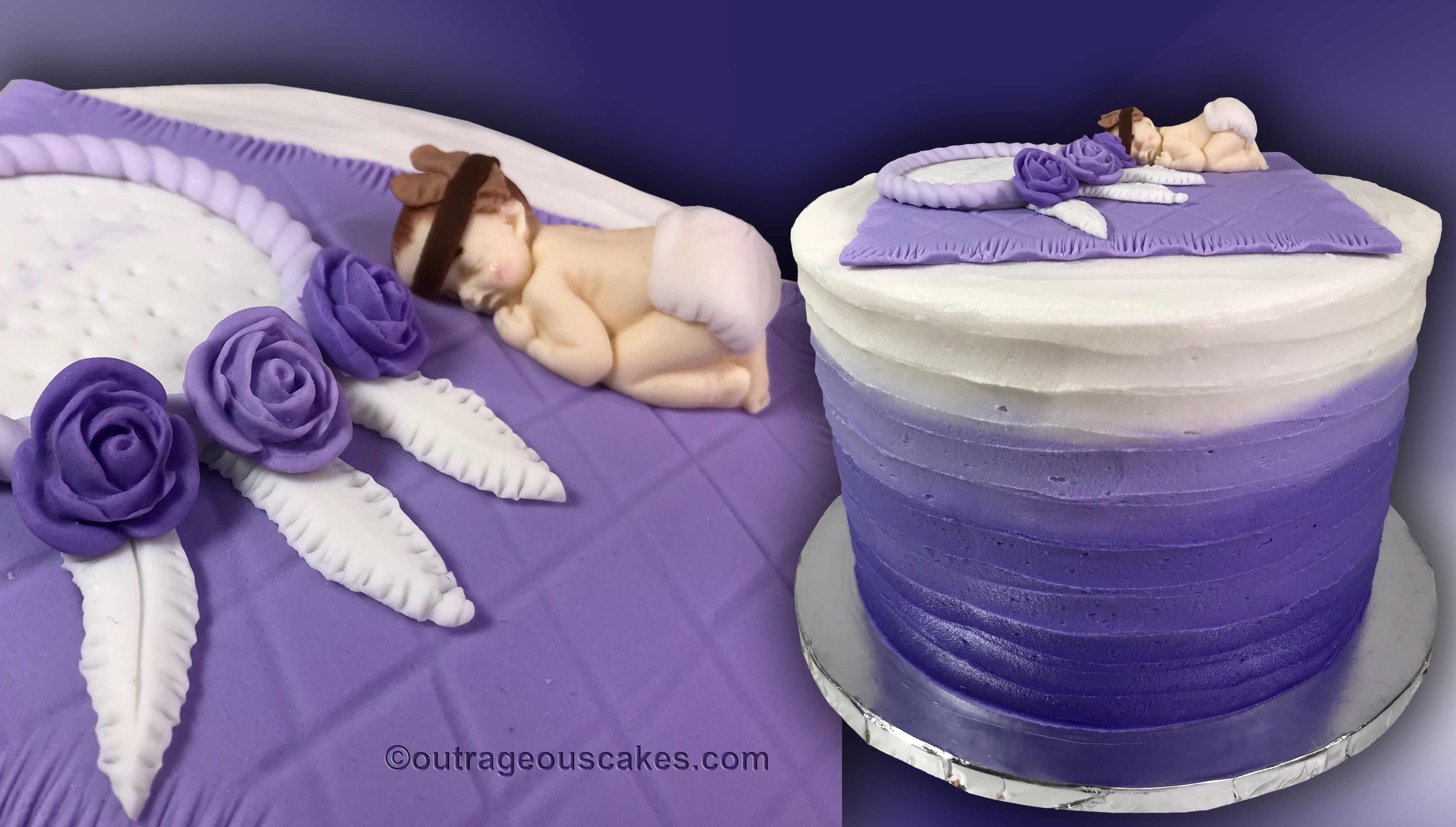 Dream Catcher Baby Cake