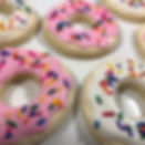 sprinkle doughnut cookie