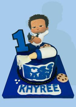 Boss Baby Inspired Cake