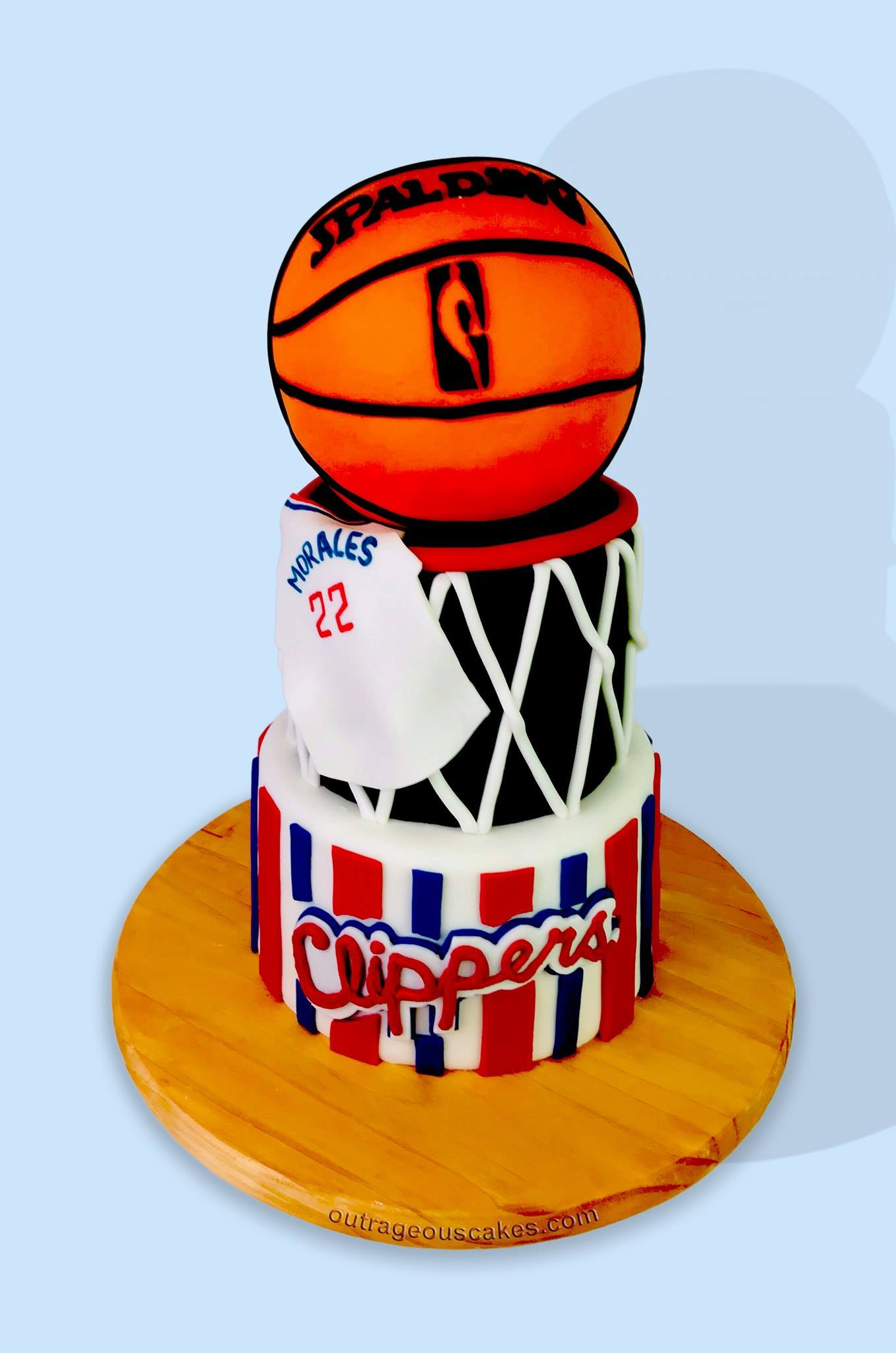 Basketball Themed Cake