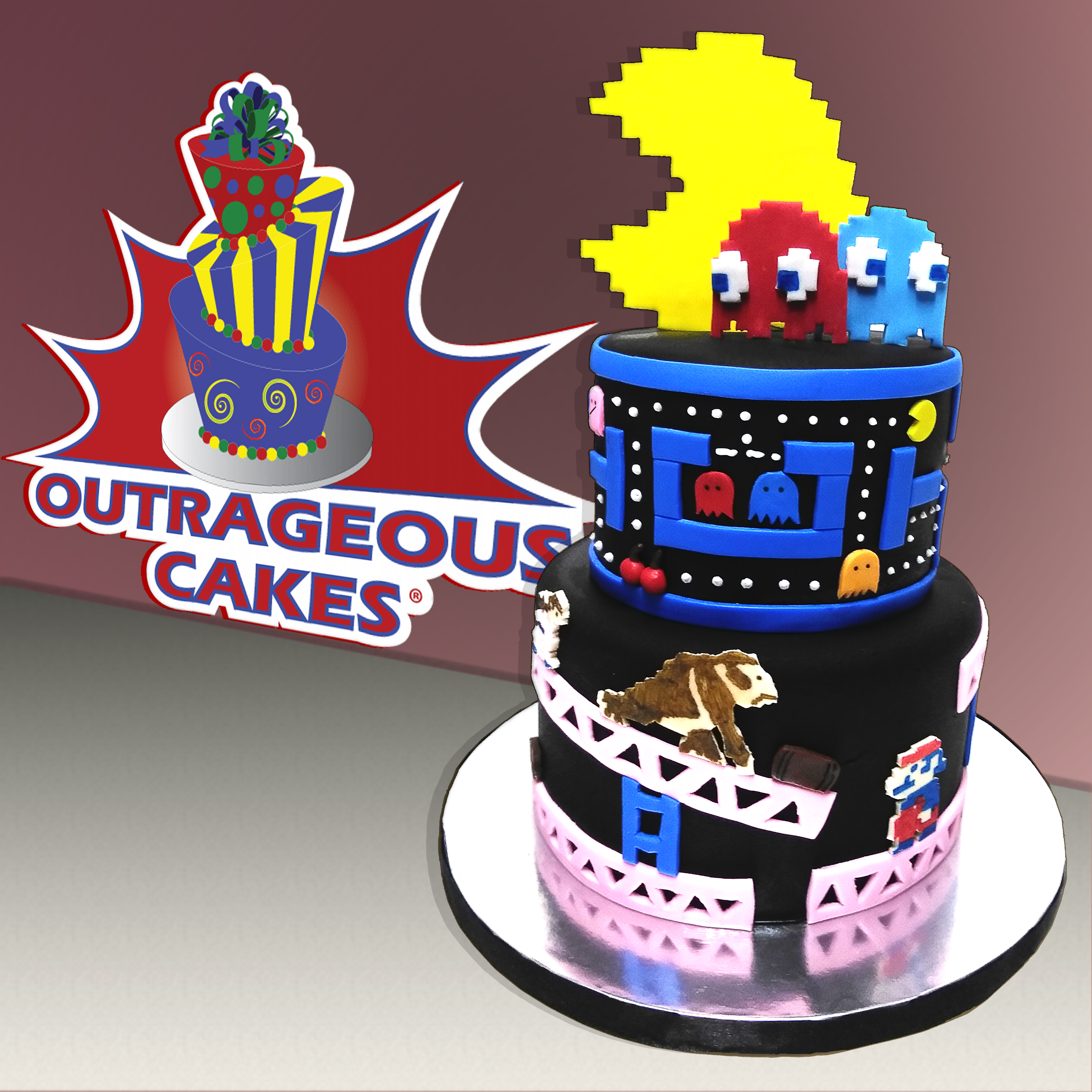 Outstanding Outrageous Cakes Tampa Bakery Adult Burthday Cakes Personalised Birthday Cards Veneteletsinfo