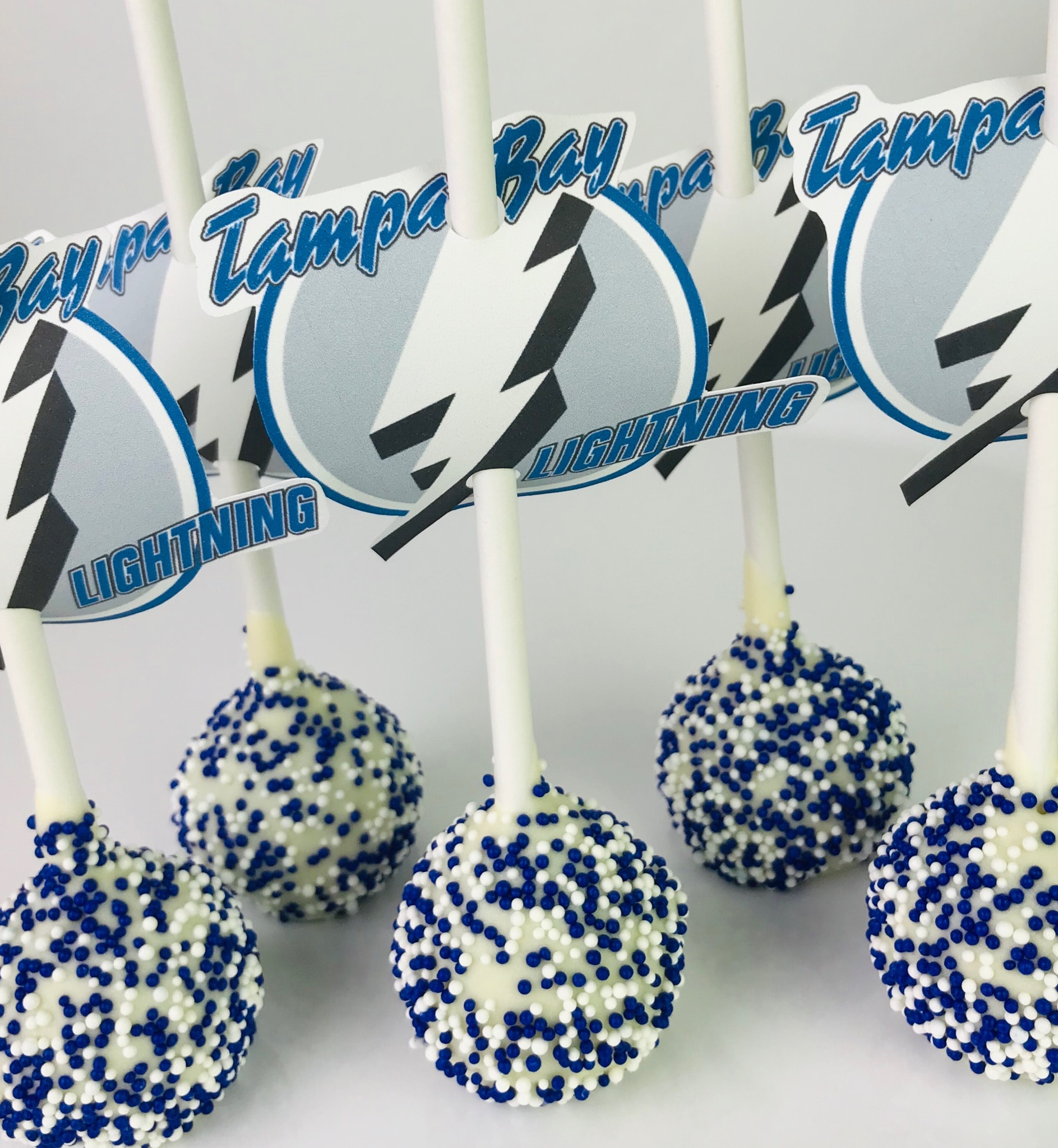Lightening Cake Pops