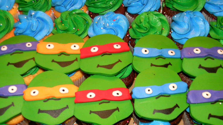 Turtles Cupcakes
