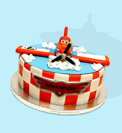 Planes Themed Cake
