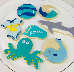 Underwater Themed Cookies