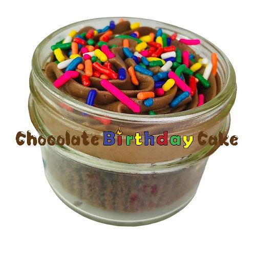4 oz Chocolate Birthday Cupcake In A Jar