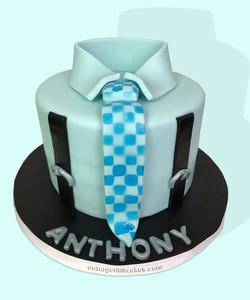 Shirt & Tie Cake