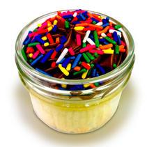 8 oz Vanilla Birthday w/ Chocolate Buttercream