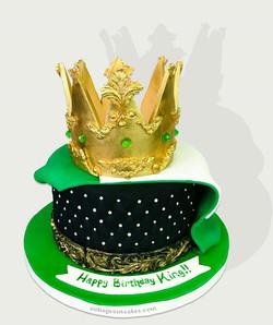 Nigerian King Cake