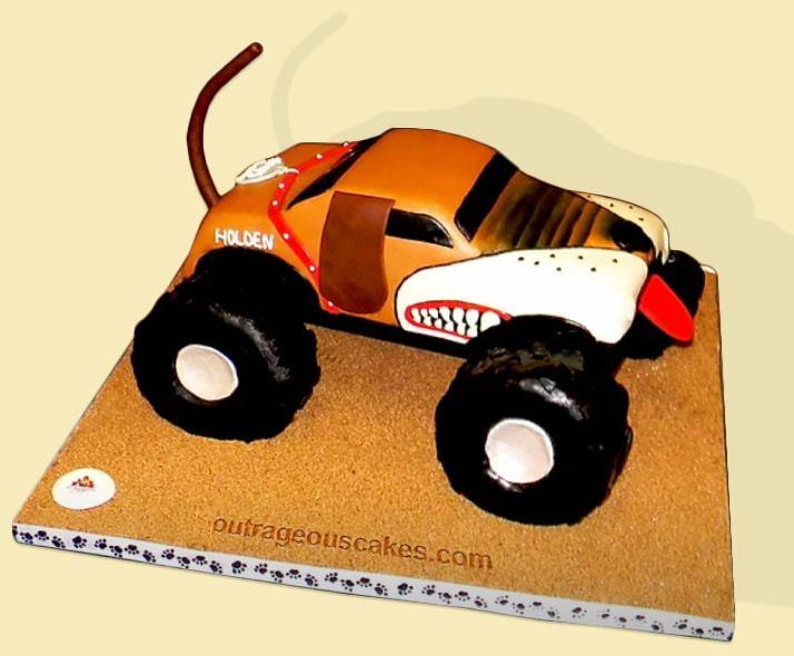 Monster Mutt Cake