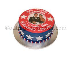 Military Round Cake