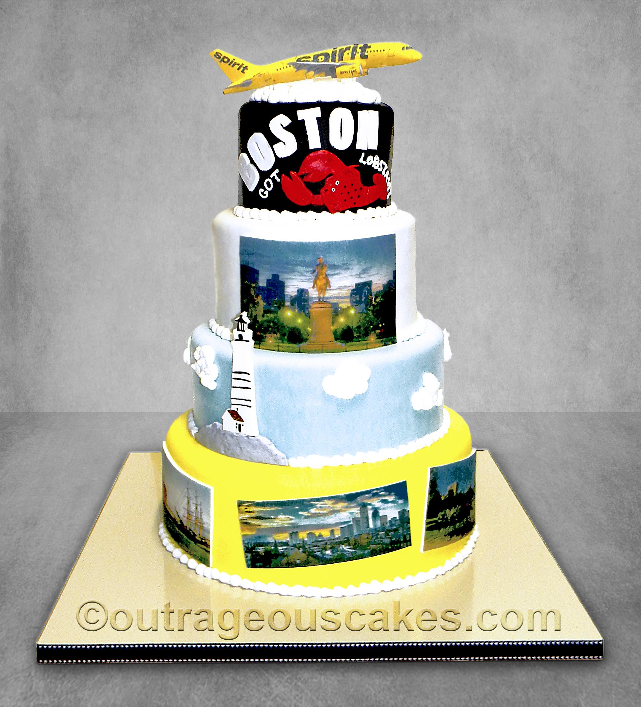Boston TIA cake