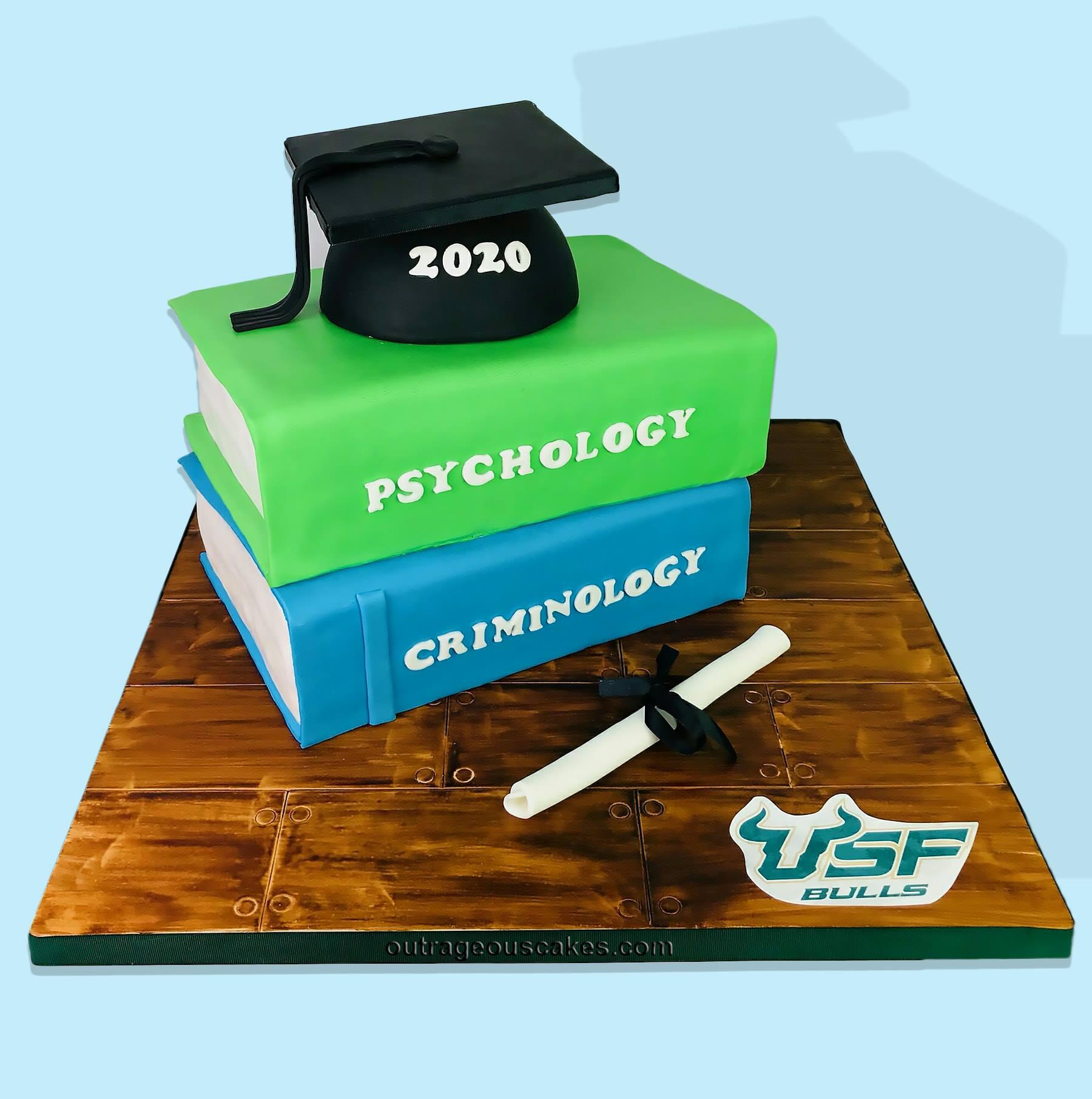 USF Grad Cake