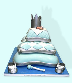 Stacked Baby Pillow Cake