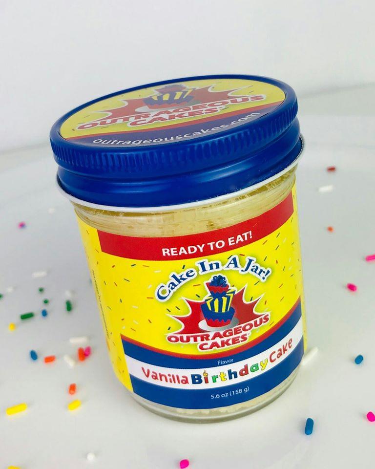 8 oz Cake Jars