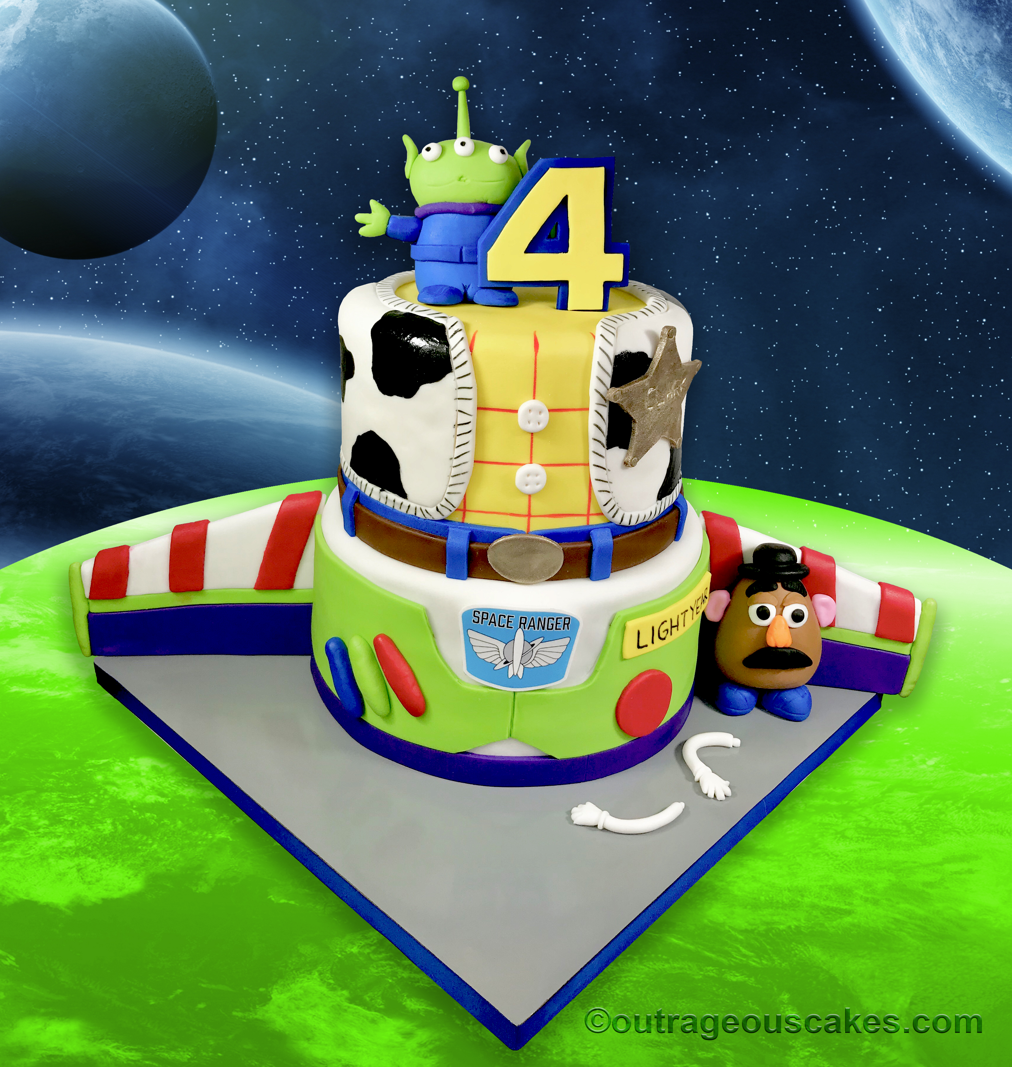 Toy Story Cake - Outrageous Cakes Tampa
