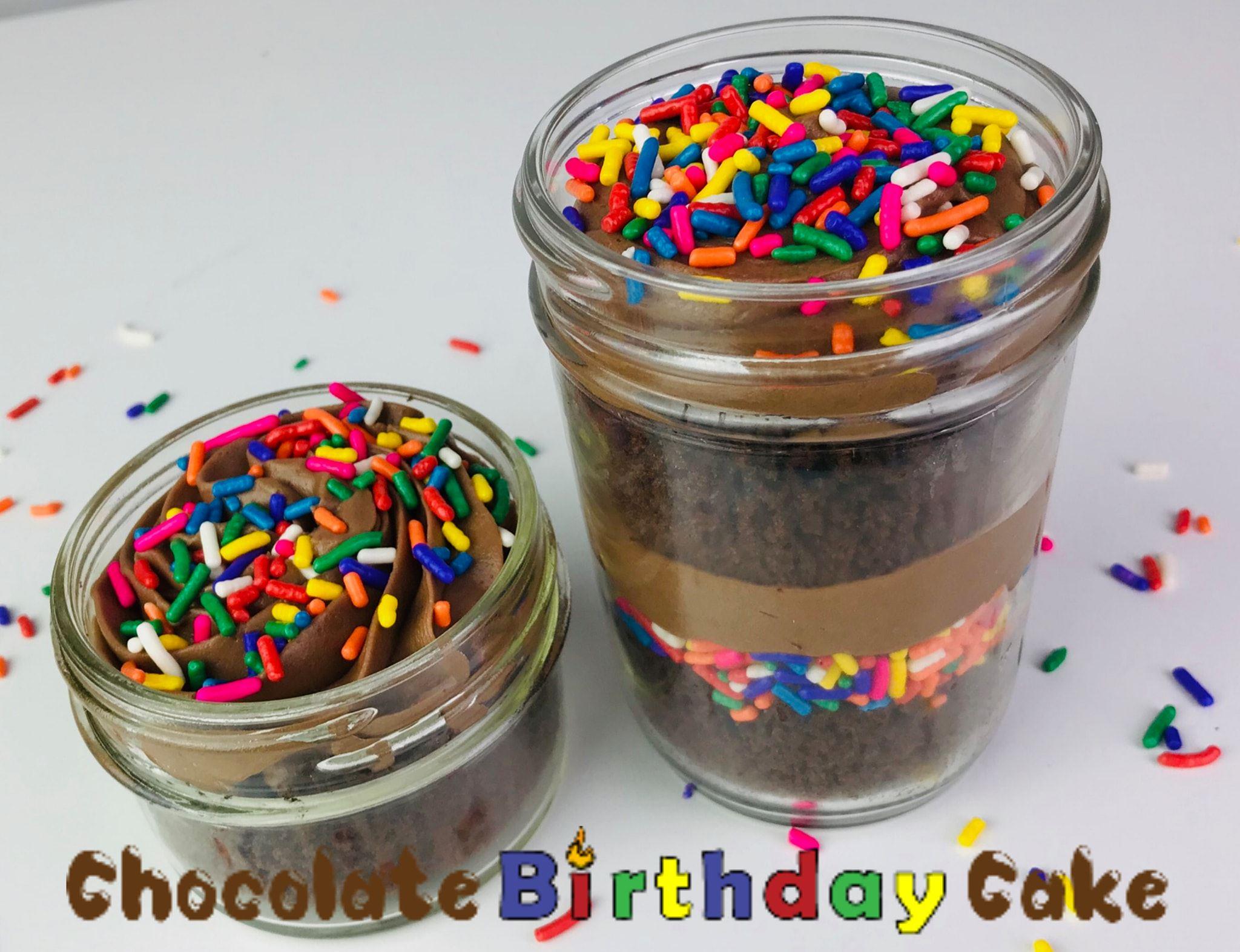 4 & 8 oz Cake Jars