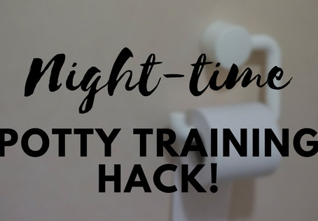 Night Time Potty Training Hack!