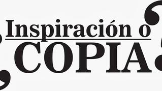 ¿Inspiración o Copia?