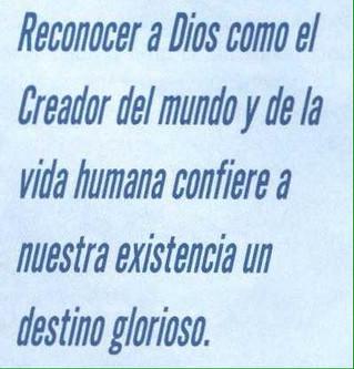Mi Dios creador