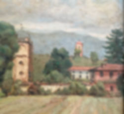 Painting of the house