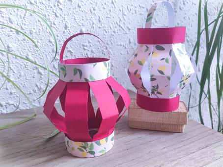 Fabriquer des lampions en papier