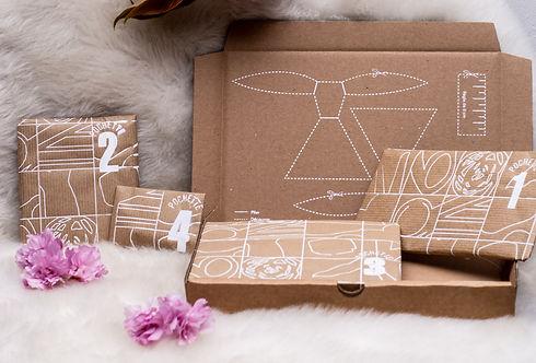Grand kit créatif DIY Bo'kit by lo mobile décoratif a suspendre