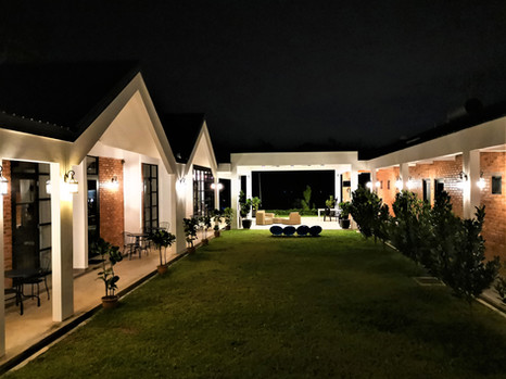 Night Courtyard