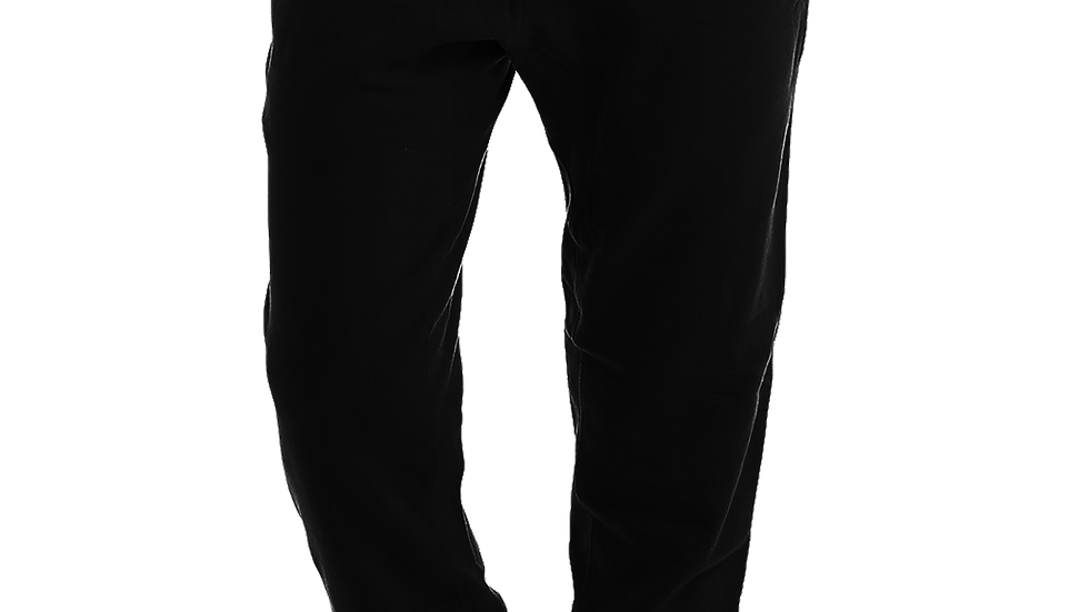 MADE IN DENA Area Code 626 Red Logo Black Joggers