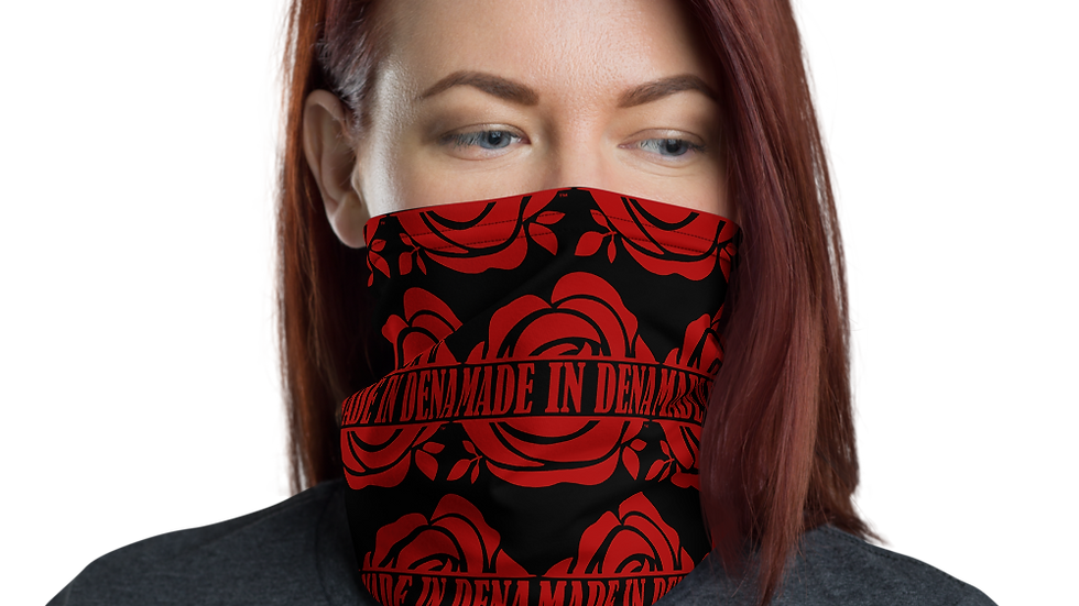 """MADE IN DENA"" Classic Logo Mask & Neck Gaiter"