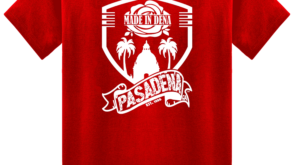 """MADE IN DENA"" City Shield Tee by Hardwear Apparel"