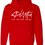"""Thumbnail: Red """"StayUplifted"""" Hashtag Hoodie by Stay Uplifted Apparel"""