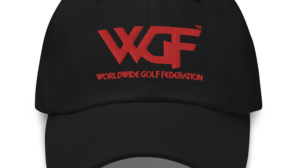 """WGF"" Minimal Log Dad Hat by Hardwear Apparel"