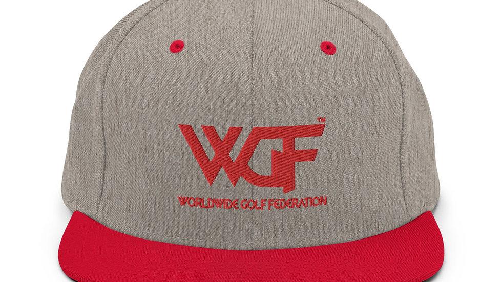 """""""WGF"""" Minimal Logo Snapback Hat by Hardwear Apparel"""