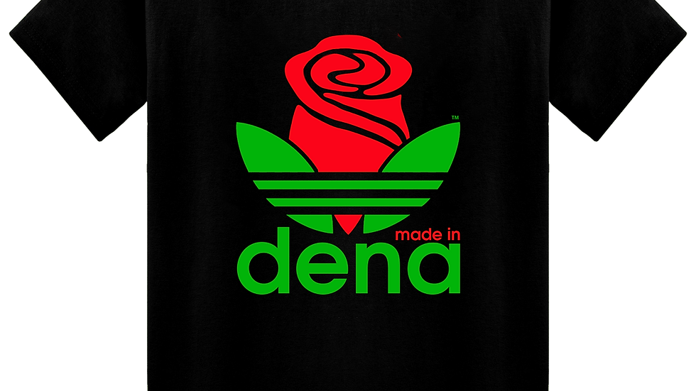 """MADE IN DENA"" RBG Adirose Black T-Shirt"