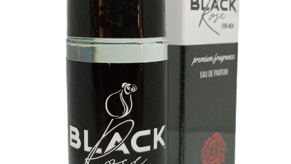 BLACK ROSE Premium Fragrance for Men by MADE IN DENA (30ml)